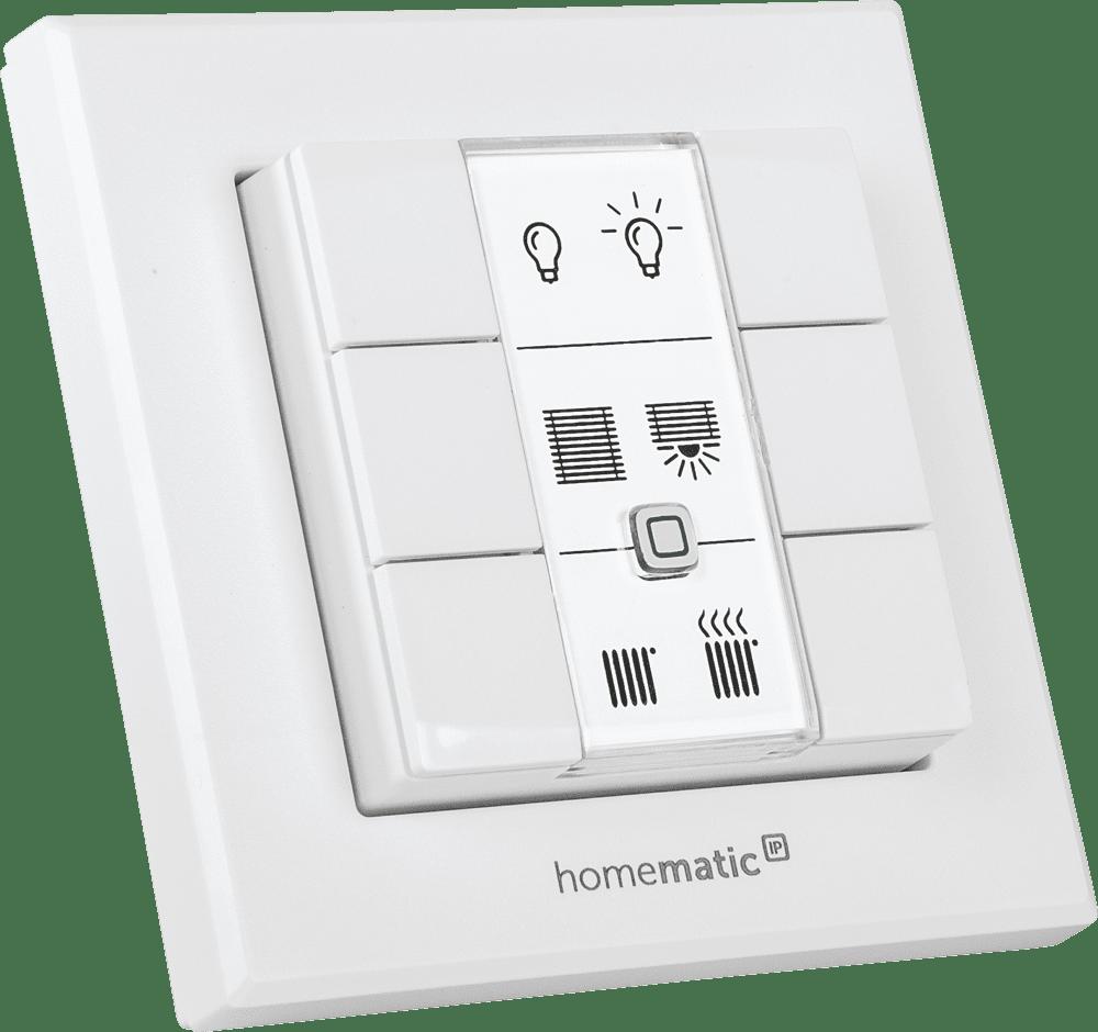 Homematic IP Безжичен стенен бутон - 6 бутона
